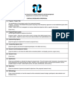 CVCHRD Capsule Proposal Editable Template