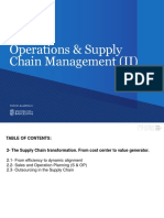 Operations & Supply Chain Management (Unit 2)
