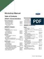 Ford Transit VM 2006-2013 workshop manual