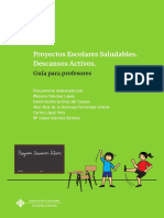 PES Descansos Activos  Guía para profesores