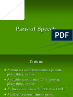 Parts of Speech8