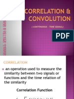 CORRELATION & CONVOLUTION