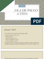 Epístola de Paulo a Tito