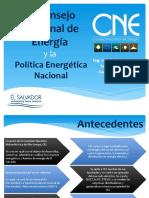 El Consejo Nacional de Energía