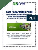 social-welfare-assistant-director-2012-ppsc-mcqs