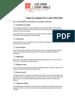 YouthCentral_JobInterviewChecklist.pdf