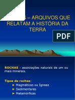 2. Rochas e Tipos de Rochas