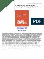 Finance-de-marché-Instruments-de-base-produits-dérivés-portefeuilles-et-risques-4ème-éd