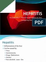 Viral HEPATITIS ppt  by applember