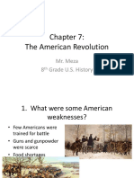 Chapter 7 - The American Revolution