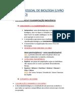 RESUMO PESSOAL DE BIOLOGIA(1TP)
