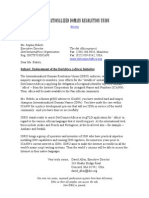 IDRU Endorsement of Dotafrica for  DotConnectAfrica (DCA)