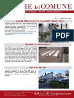 Notizie Dal Comune di Borgomanero del 13-02-2020