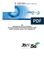 3GPP 5G End-To-End KPI