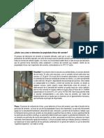 Cuáles son y cómo se determinan las propiedades físicas del cemento