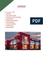 KFC market research