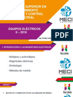 EQUIPOS ELÉCTRICOS
