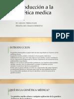 1.Introducción a la genética medica