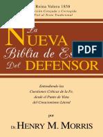 Biblia de Estudio Del Defensor (Expandida)-Henry M. Morris-Valera 1858