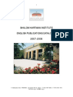 Shalom Hartman Institute English Publications Catalogue