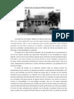Historia de la Casa de Niños Expósitos