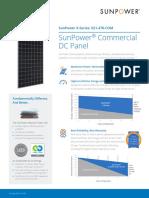 SunPower X21-470 -460-COM Datasheet 527837