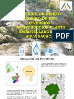 Presentación PLANTA EMBOTELLADORA DE AGUA