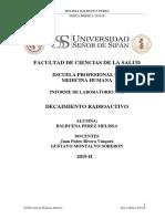 INFORME DECAIMIENTO RADIOACTIVO II