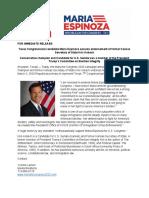 Kris Kobach Endorses Maria Espinoza for Congress