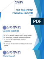 CH 2 - THE PHILIPPINE FINANCIAL SYSTEM