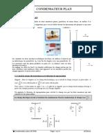 35-508 Éléctrostatique Condensateur