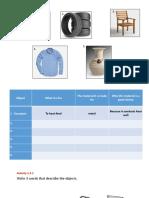 Lesson 1 - Materials