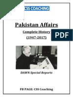 Pak Affairs- Dawn Reports (1947-2017)