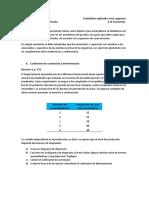 Práctica Regresión Lineal y Correlación