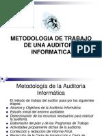Metodología de trabajo de una auditoria