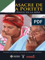 La masacre de Bahía Portete - Mujeres Wayuu en la mira