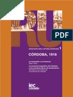 Córdoba 1918