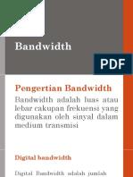 Analisis Kebutuhan Bandwidth