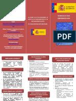 140225 folleto ley emprendedores Emprendedores