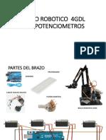 BRAZO ROBOTICO  4GDL