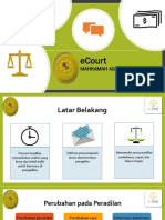 PPT e-Court untuk Publik