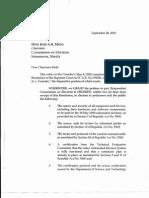 JOINT LETTER_CenPEG and Guingona Re Reease Documents