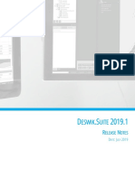 Deswik.Suite 2019.1 Release Notes
