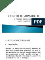 AULA 1 - ESTUDO DOS PILARES