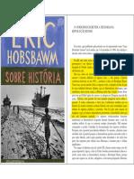 3C-HOBSBAWM,E - Sobre História - TEXTO PROVA