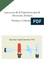 Aplicación de la Espectroscopía de Absorción Atómica.ppt