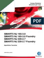 Specifiche tecniche robot NJ 165-220 Foundry
