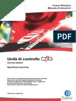 Unità Di Controllo. Comau Robotics Manuale Di Istruzioni. Specifiche Tecniche. Versione Standard