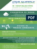 WATERSUPPLY - GUIA INSTALACION BIODIGESTOR AUTOLIMPIABLE v2 2019