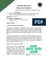 TrabajoAutonomo4ResolucionEjerciciosUtilizandoVHDL